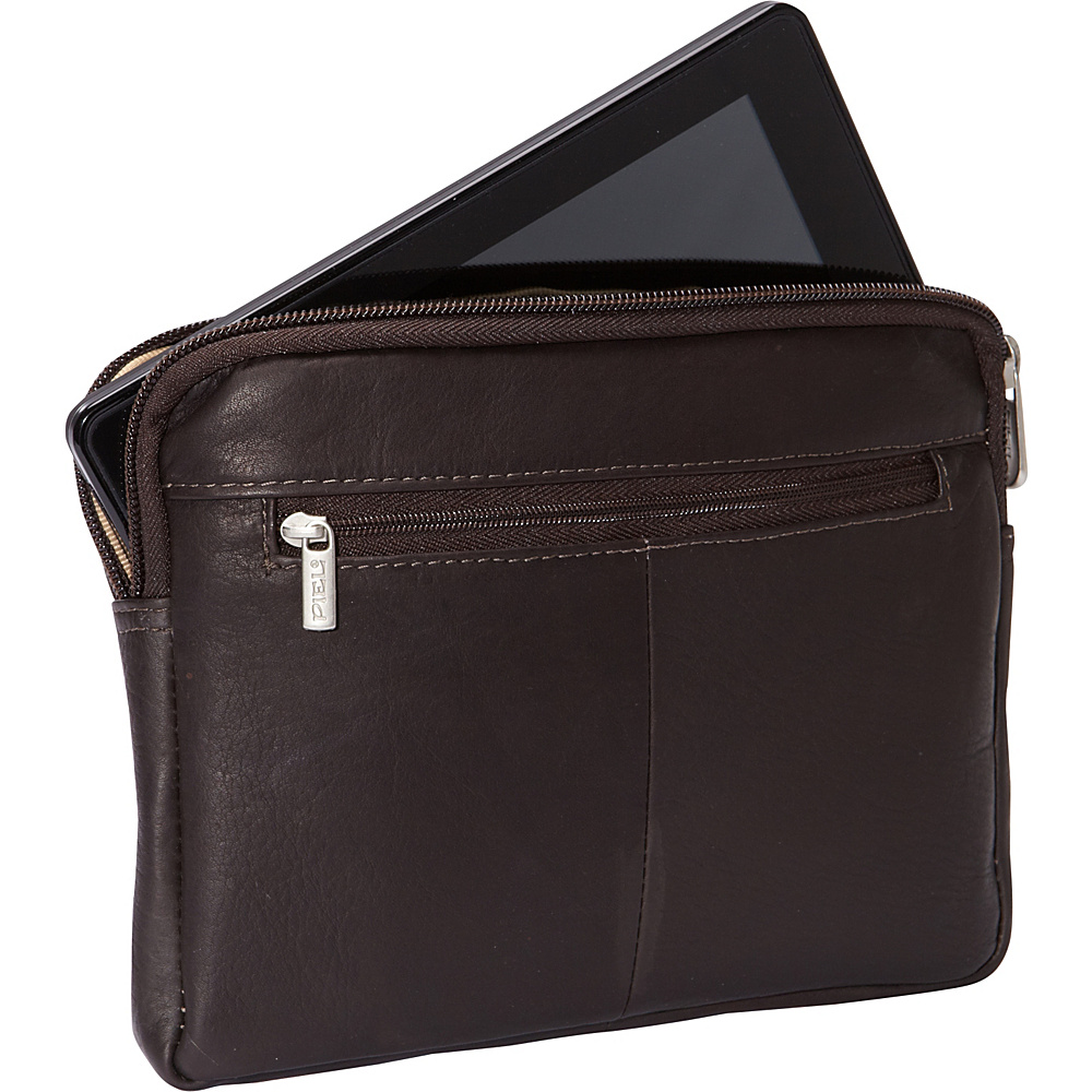 Piel iPad Mini & 7 Tablet Sleeve Chocolate - Piel Electronic Cases - Technology, Electronic Cases
