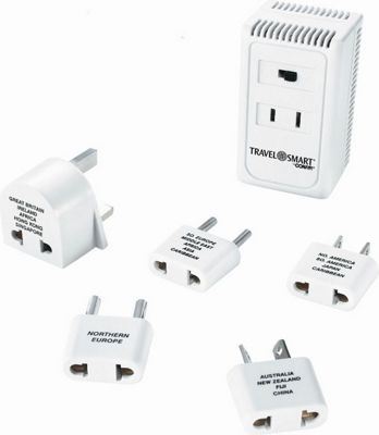 Travel Smart by Conair 1875-Watt Converter with High/Low Selector Switch White - Travel Smart by Conair Electronic Accessories