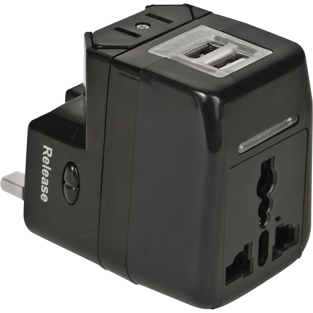 Travelon Dual USB Charger and Adapter Black - Travelon Electronic Accessories - Technology, Electronic Accessories