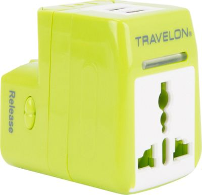 Travelon Dual Usb Charger And Adapter Ebags Com
