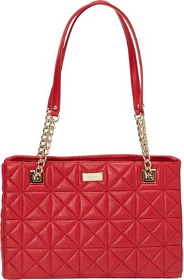 kate spade new york Sedgwick Place Small Phoebe Shoulder Bag - Quilted Dynasty Red - kate spade new york Designer Handbags