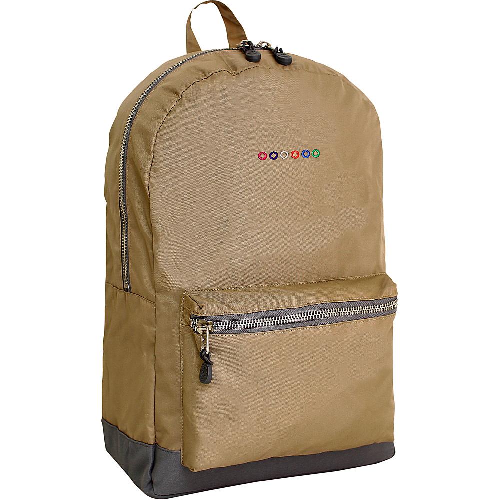 J World New York Lux Backpack Tan - J World New York Everyday Backpacks