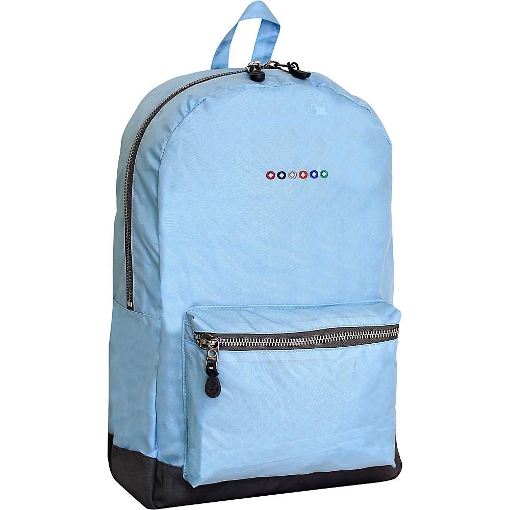 J World New York Lux Backpack Sky Blue - J World New York Everyday Backpacks - Backpacks, Everyday Backpacks