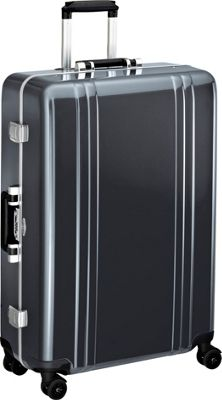 Zero Halliburton Classic Polycarbonate 28 inch 4 Wheel Spinner Travel Case Gun Metal