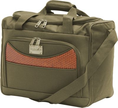 Caribbean Joe Castaway 16 inch Boarding Tote Olive - Caribbean Joe Luggage Totes and Satchels