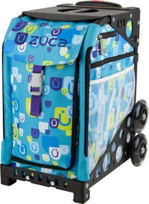ZUCA Sport Be Zappy/Black Non Flashing Wheels Be Zappy Black NFW - ZUCA Other Sports Bags
