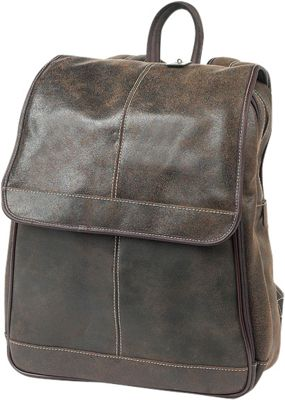 ClaireChase Andes Backpack Distressed Brown - ClaireChase Business & Laptop Backpacks