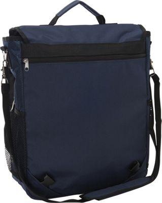bellino 3 way vertical compucase 2 colors laptop messenger