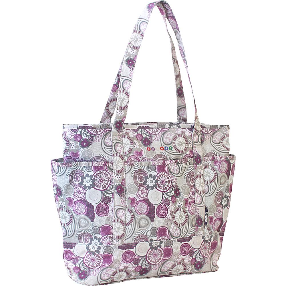 J World New York Emily Tote Bag Lemon - J World New York Fabric Handbags - Handbags, Fabric Handbags