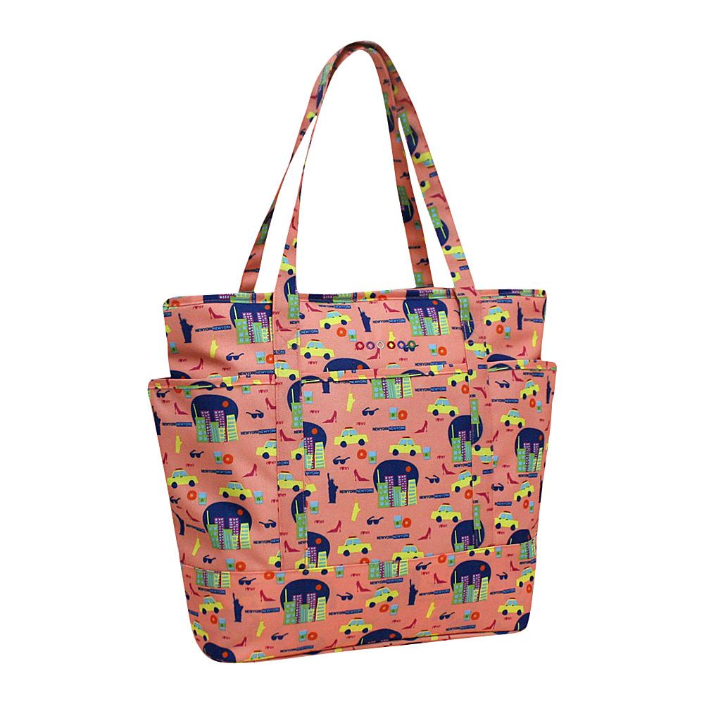 J World New York Emily Tote Bag NEW YORK - J World New York Fabric Handbags - Handbags, Fabric Handbags