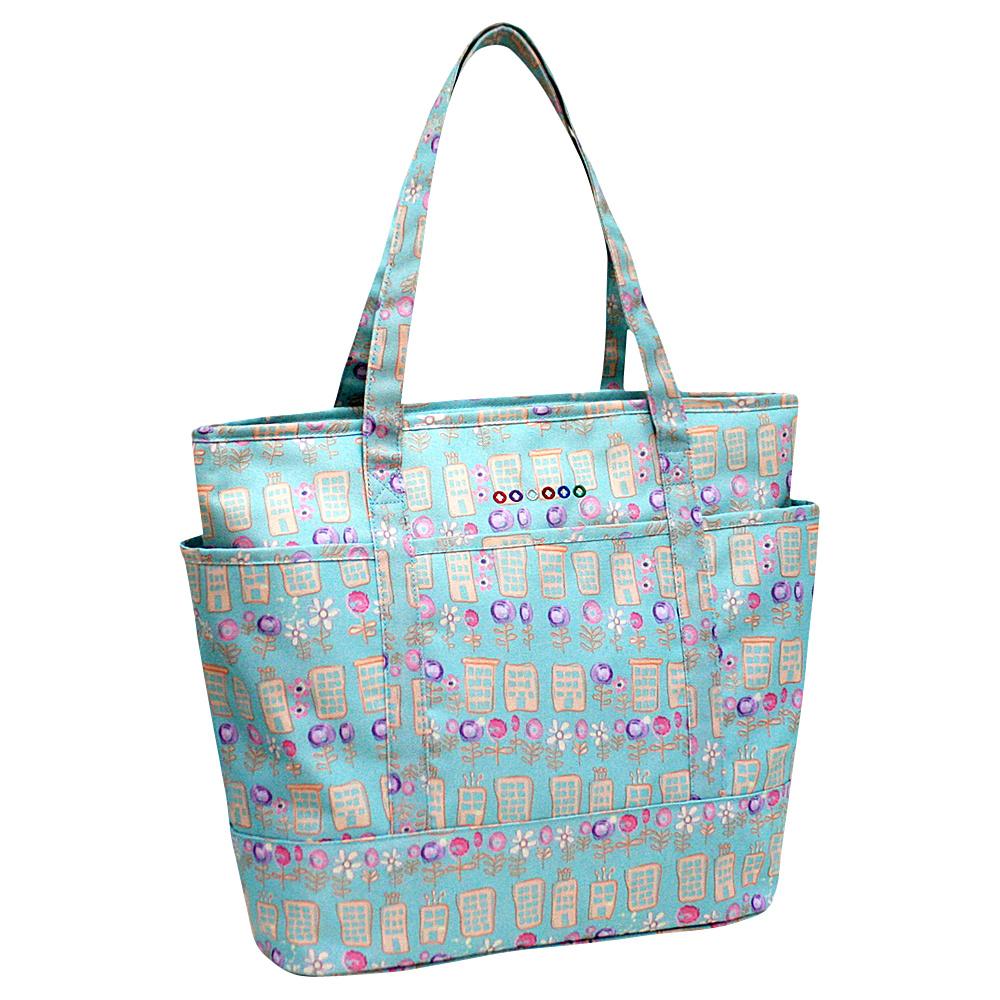 J World New York Emily Tote Bag Urban - J World New York Fabric Handbags - Handbags, Fabric Handbags