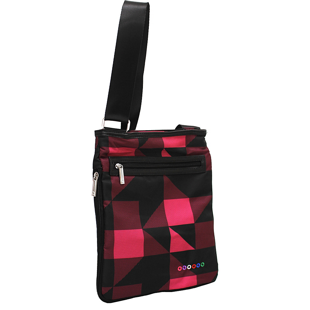 J World New York Cush Crossbody Block Pink - J World New York Fabric Handbags - Handbags, Fabric Handbags