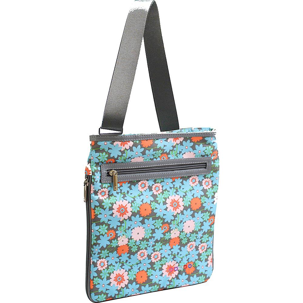J World New York Cush Crossbody BLOSSOM - J World New York Fabric Handbags - Handbags, Fabric Handbags