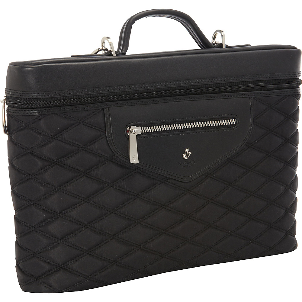 KNOMO London Alfie 13 Laptop Carrier Black KNOMO London Non Wheeled Business Cases