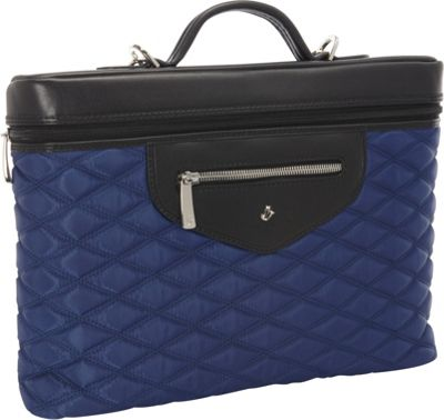 KNOMO London Alfie 13 inch Laptop Carrier Marine - KNOMO London Non-Wheeled Business Cases