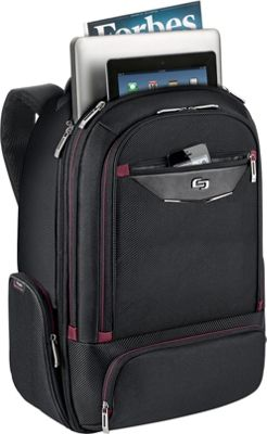SOLO 17.3 inch Laptop Backpack Black - SOLO Business & Laptop Backpacks