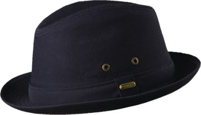 Stetson Andes Water Repellent Fedora M - Black - Stetson Hats/Gloves/Scarves