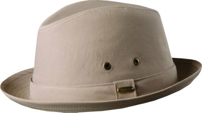 Stetson Andes Water Repellent Fedora L - Khaki - Stetson Hats/Gloves/Scarves