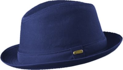 Stetson Andes Water Repellent Fedora M - Navy - Stetson Hats/Gloves/Scarves