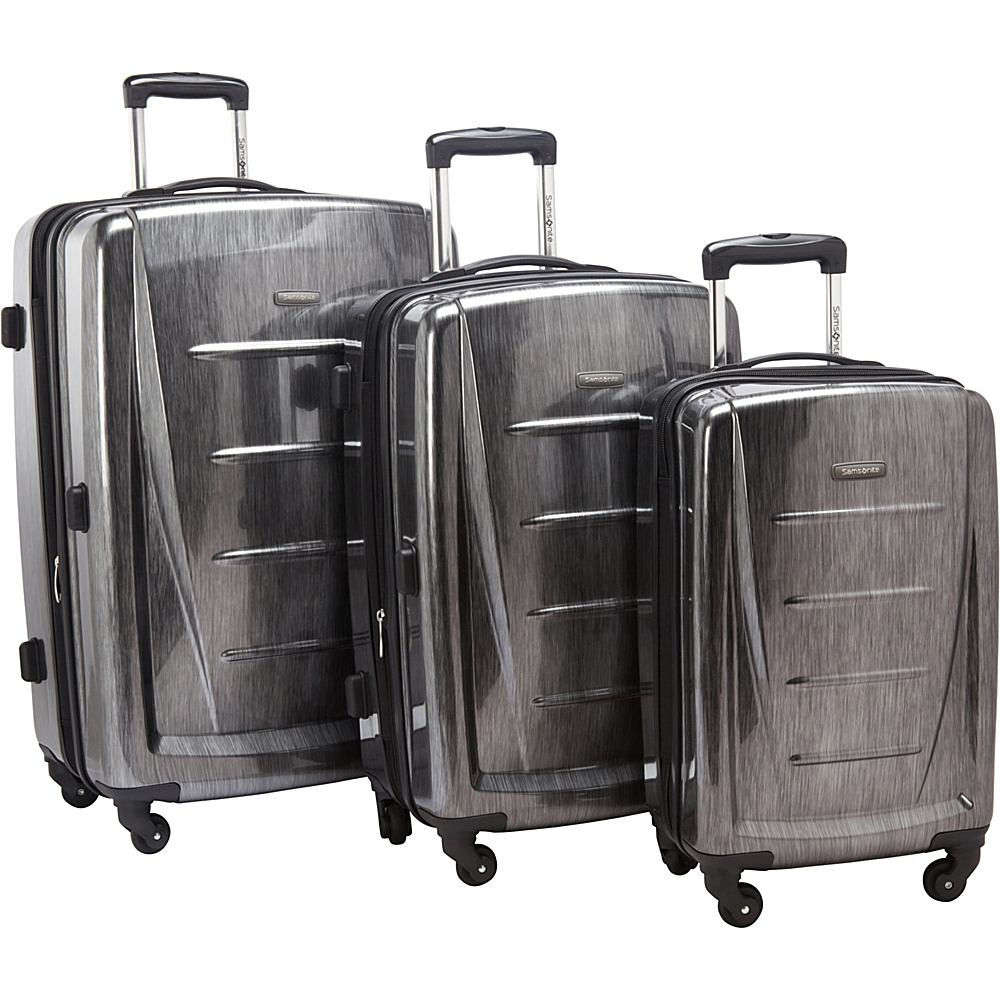 Samsonite Winfield 2 Fashion 3-Piece Hardside Luggage Set Charcoal - Samsonite Luggage Sets