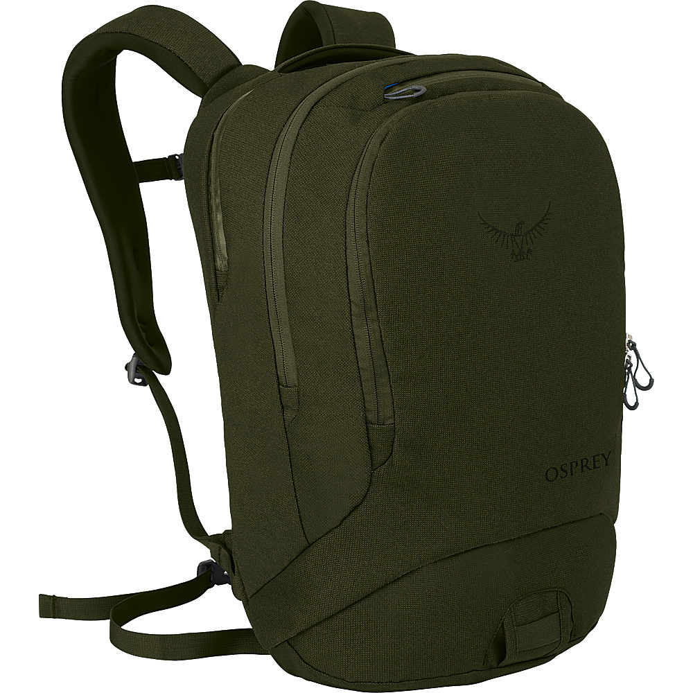 Osprey Cyber Laptop Backpack Forest Green Osprey Business Laptop Backpacks