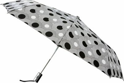 Leighton Umbrellas Manhattan Automatic Umbrella geometric circles - Leighton Umbrellas Umbrellas and Rain Gear