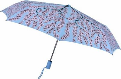 Leighton Umbrellas Manhattan Automatic Umbrella cherry blossom - Leighton Umbrellas Umbrellas and Rain Gear