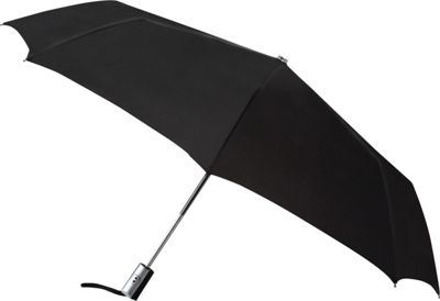 Leighton Umbrellas Manhattan Automatic Umbrella black - Leighton Umbrellas Umbrellas and Rain Gear