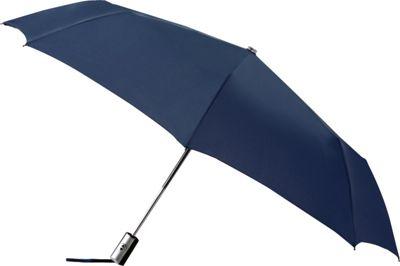 Leighton Umbrellas Manhattan Automatic Umbrella navy - Leighton Umbrellas Umbrellas and Rain Gear