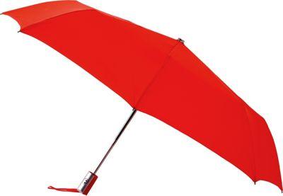 Leighton Umbrellas Manhattan Automatic Umbrella red - Leighton Umbrellas Umbrellas and Rain Gear