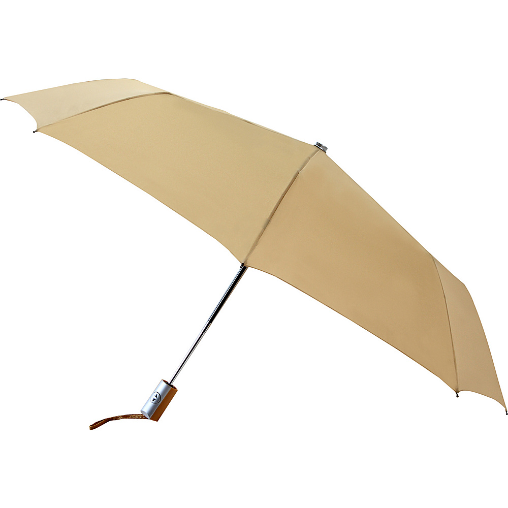 Leighton Umbrellas Manhattan khaki Leighton Umbrellas Umbrellas and Rain Gear