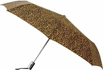 Leighton Umbrellas Manhattan Automatic Umbrella cheetah - Leighton Umbrellas Umbrellas and Rain Gear