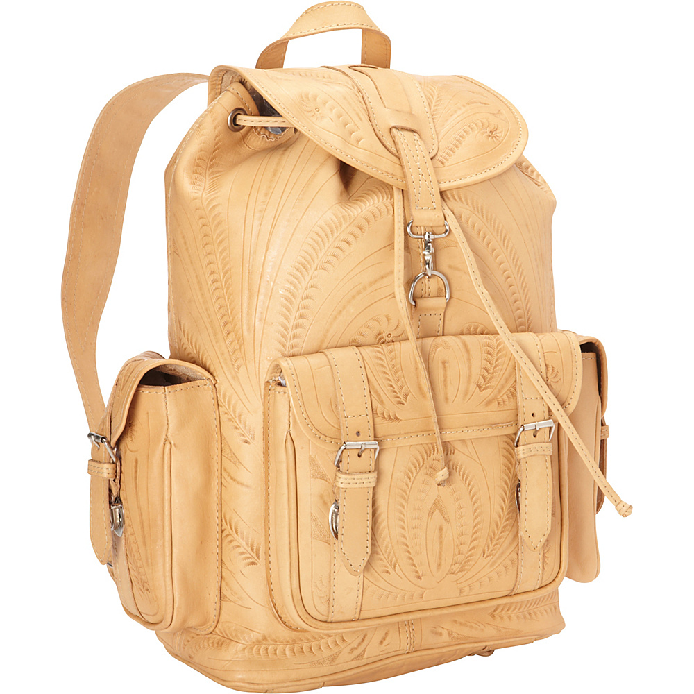 Ropin West Back pack Natural Ropin West Everyday Backpacks
