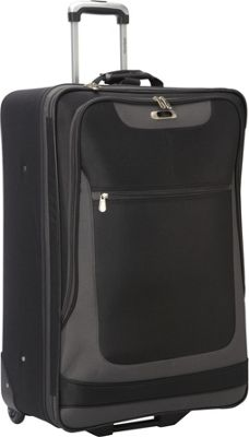 Skyway Epic 28-Inch 2-Wheel Expandable Upright Black - Skyway Softside Checked