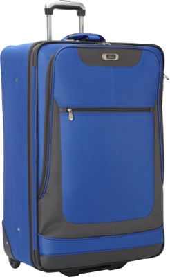 Skyway Epic 28-Inch 2-Wheel Expandable Upright Surf Blue - Skyway Softside Checked