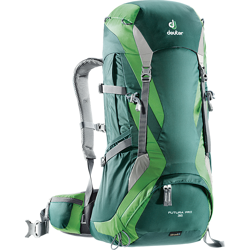 Deuter Futura Pro 36 Forest Emerald Deuter Day Hiking Backpacks