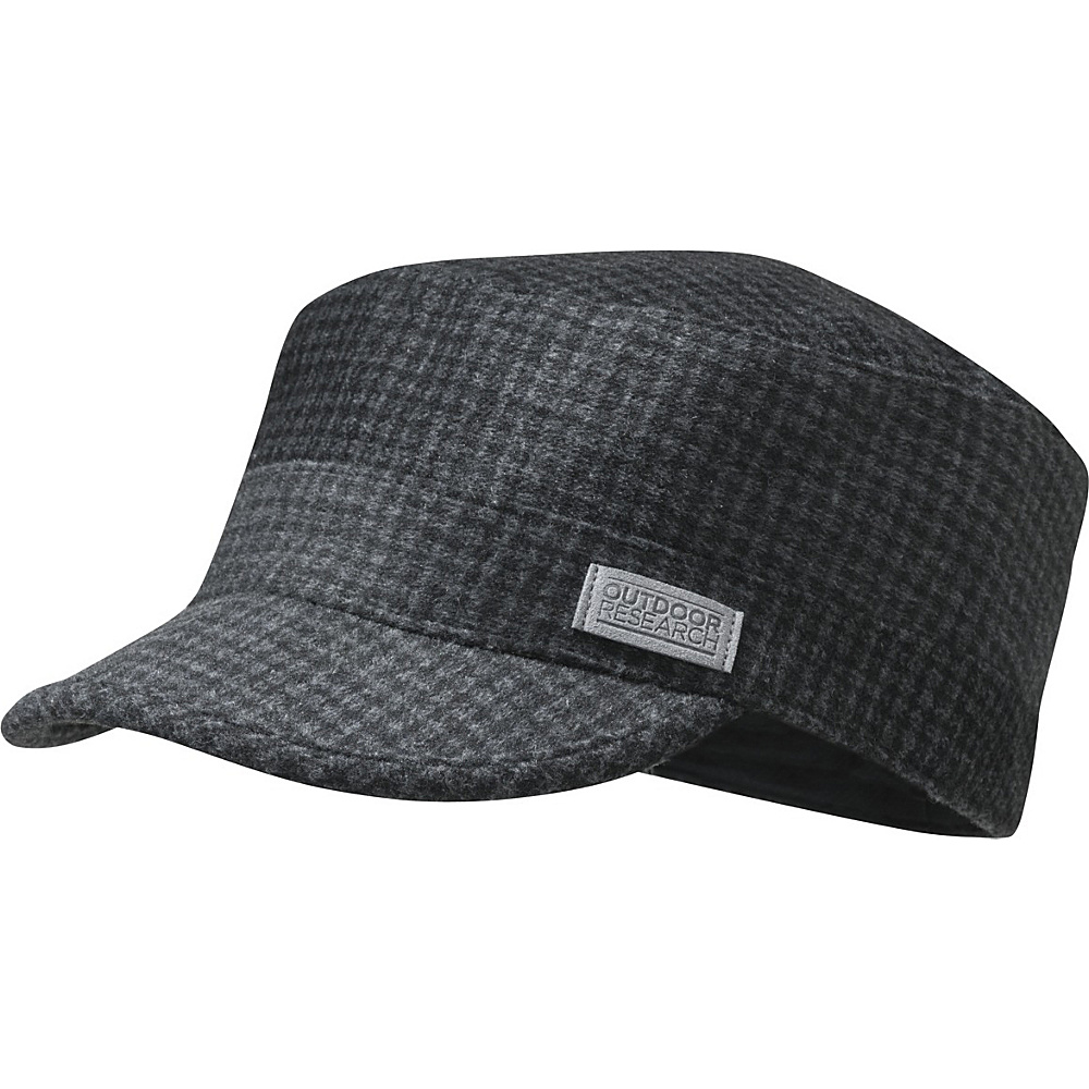 Outdoor Research Kettle Cap M - Black Plaid - Outdoor Research Hats/Gloves/Scarves - Fashion Accessories, Hats/Gloves/Scarves