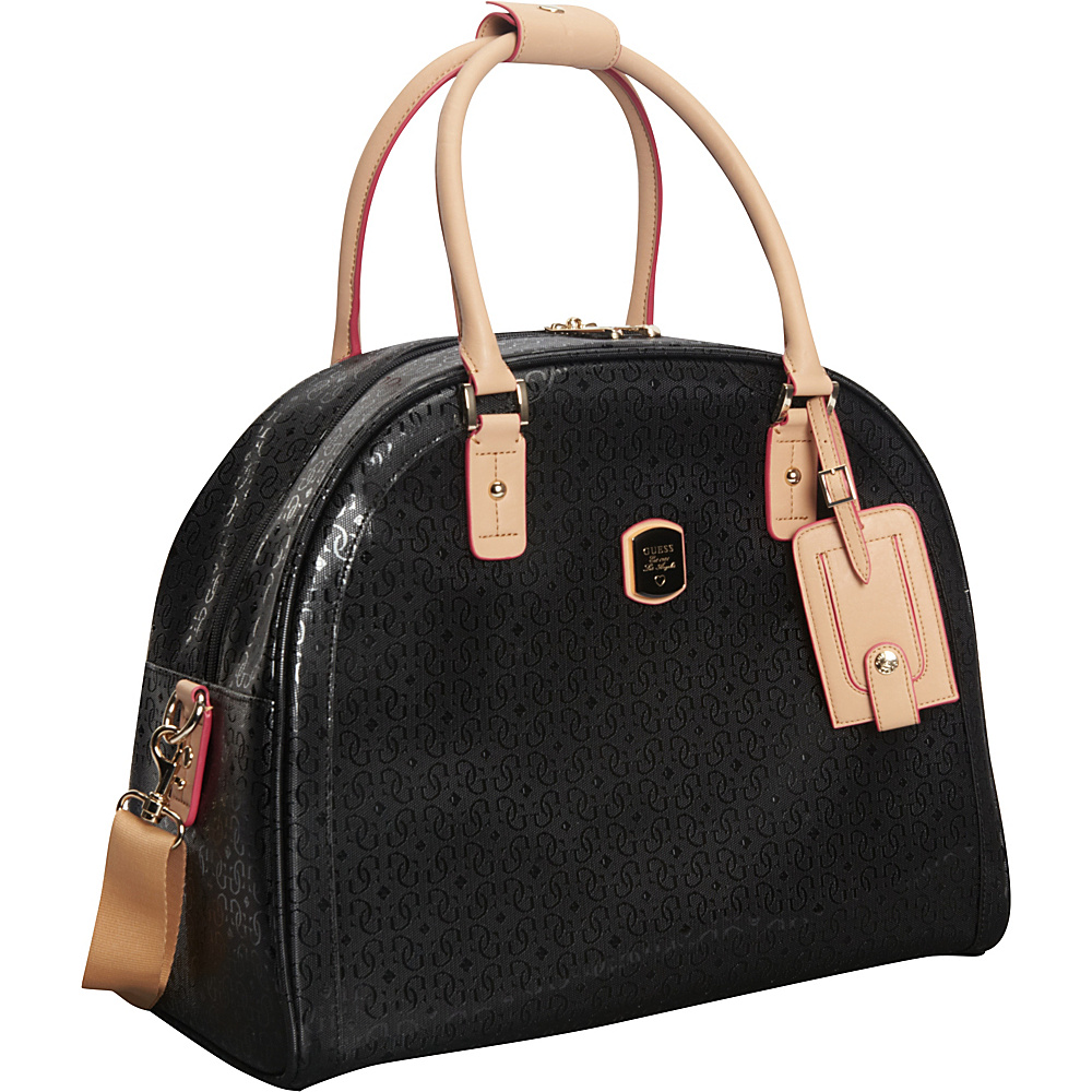 GUESS Travel Frosted Dome Tote Black - GUESS Travel Luggage Totes and Satchels