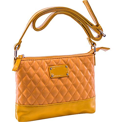 Parinda Cara Mustard Tan - Parinda Manmade Handbags