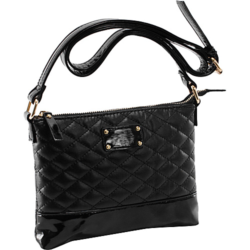 Parinda Cara Black - Parinda Manmade Handbags