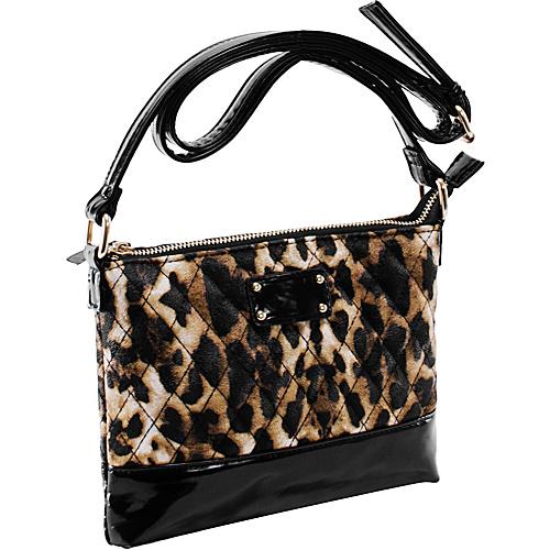 Parinda Cara Leopard - Parinda Manmade Handbags