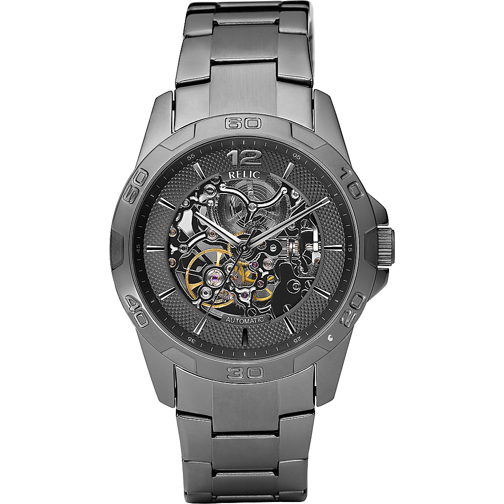 Relic Round Automatic Gunmetal Relic Watches