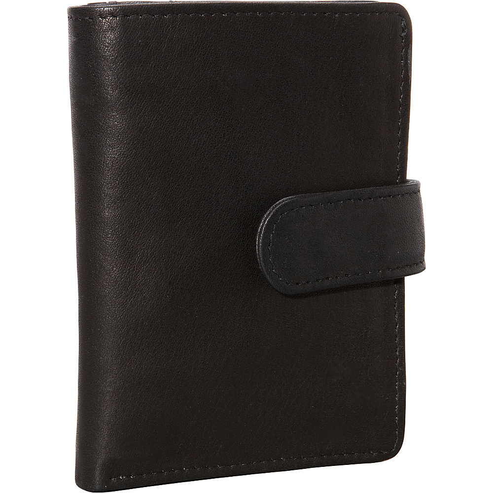 Derek Alexander Show Case Wallet with Centre Wing Black - Derek Alexander Womens Wallets - Women's SLG, Women's Wallets
