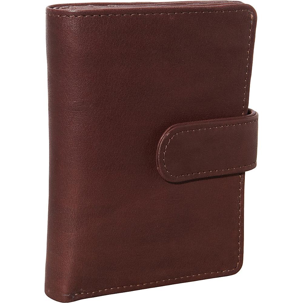 Derek Alexander Show Case Wallet with Centre Wing Brown - Derek Alexander Womens Wallets - Women's SLG, Women's Wallets