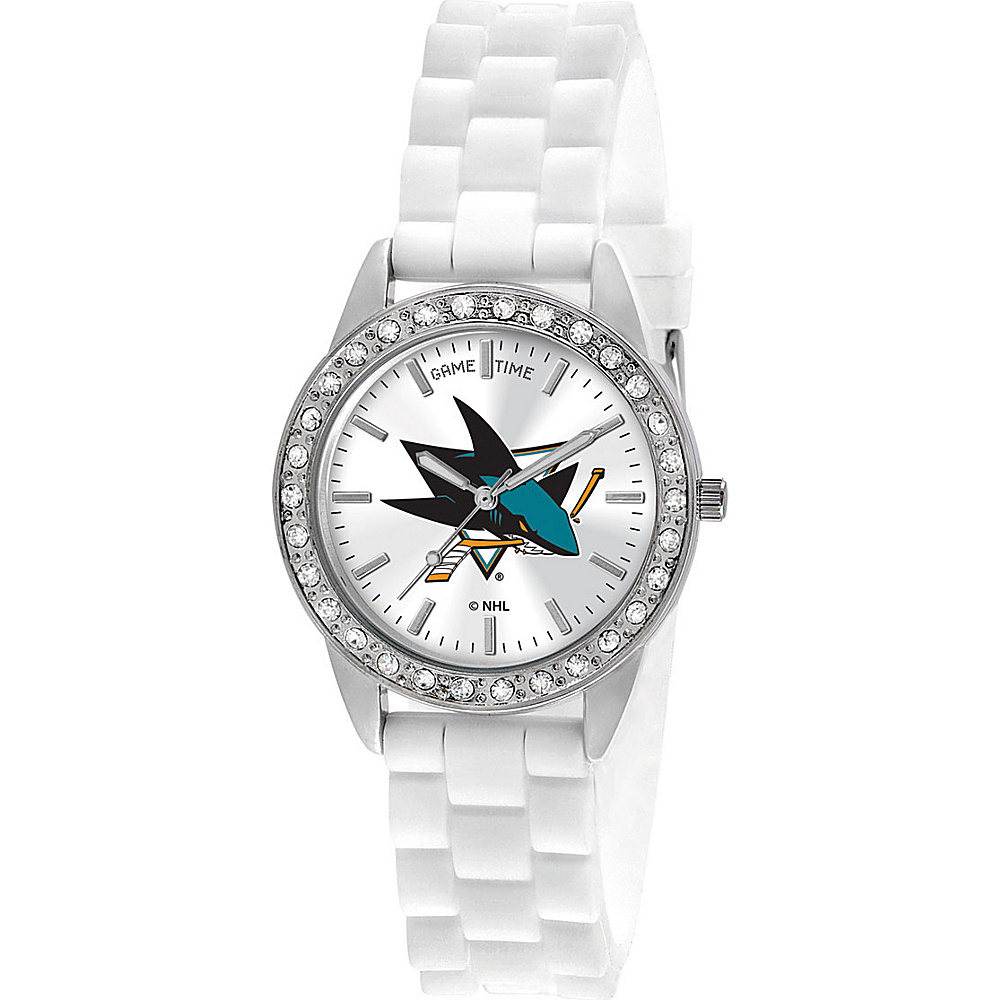 Game Time Frost-NHL San Jose Sharks - Game Time Watches - Fashion Accessories, Watches