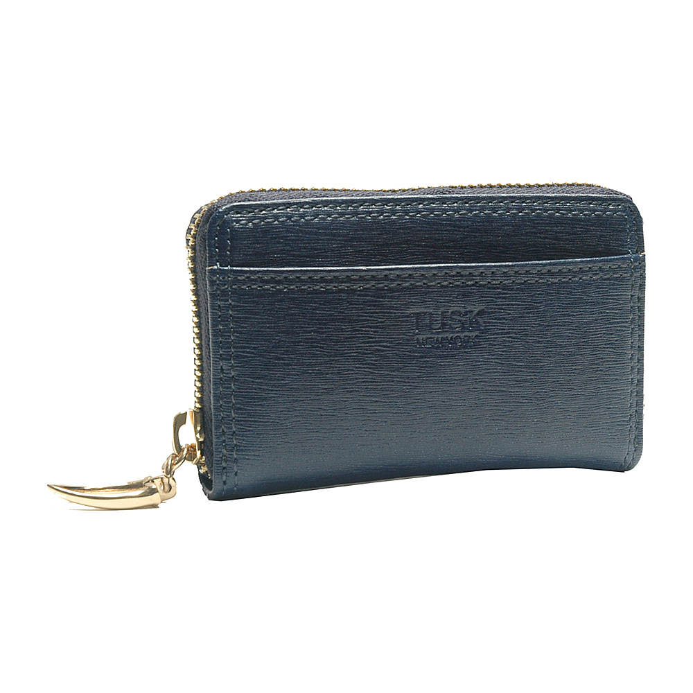 TUSK LTD Madison Card or Coin case Navy TUSK LTD Women s Wallets