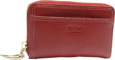 TUSK LTD Madison Card or Coin case Red - TUSK LTD Women's Wallets
