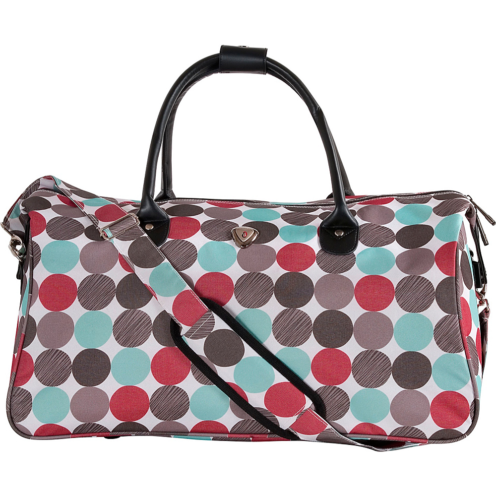 CalPak Hampton Duffle Bag MultiDots CalPak Travel Duffels