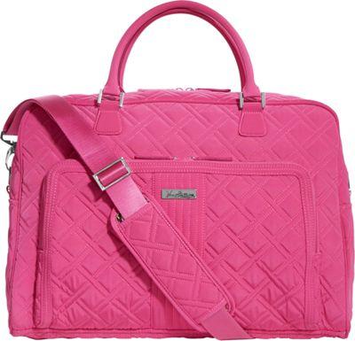 Vera Bradley Weekender Satchel - Solid Deep Pink - Vera Bradley Luggage Totes and Satchels