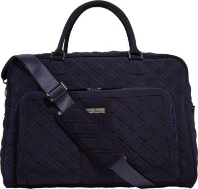 Vera Bradley Weekender Satchel - Solid Classic Navy - Vera Bradley Luggage Totes and Satchels